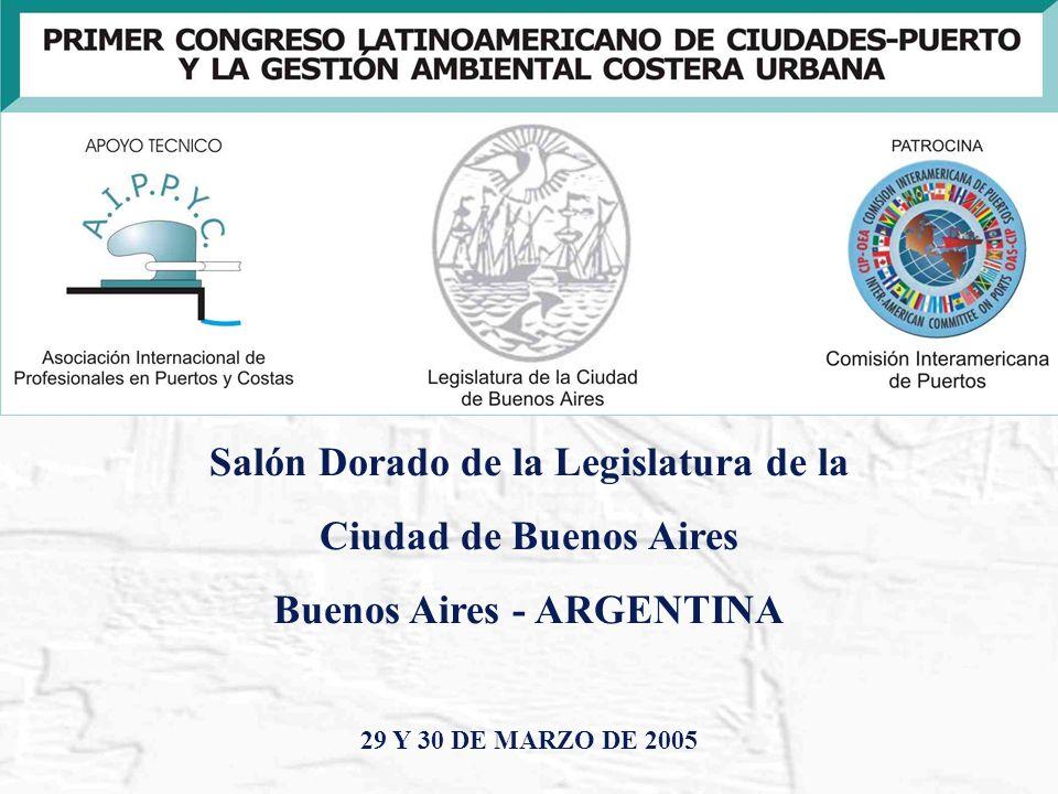 Salón Dorado de la Legislatura de la Buenos Aires - ARGENTINA