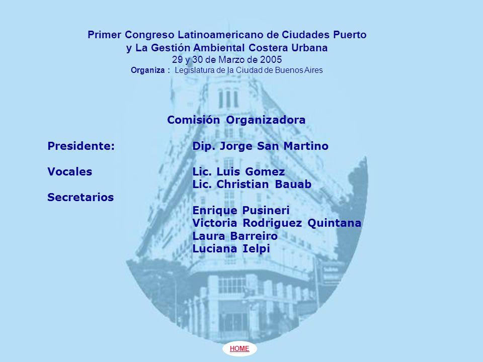 Primer Congreso Latinoamericano de Ciudades Puerto