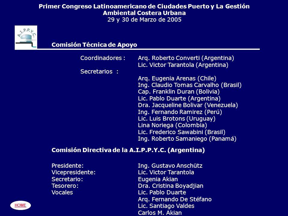 Primer Congreso Latinoamericano de Ciudades Puerto y La Gestión