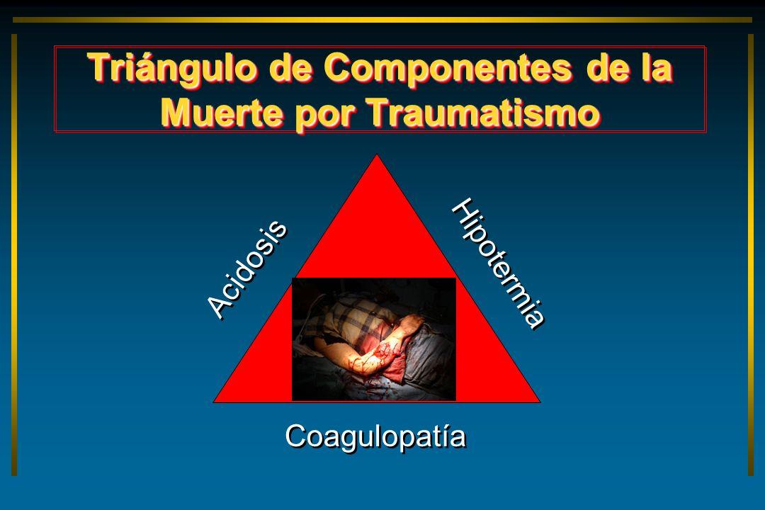 Triángulo de Componentes de la Muerte por Traumatismo