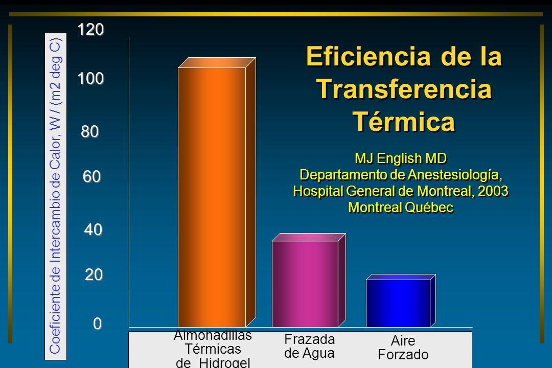Eficiencia de la Transferencia Térmica