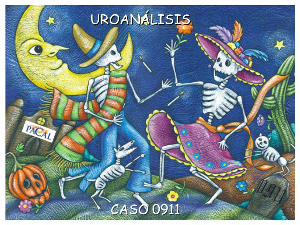 UROANÁLISIS CASO 0911