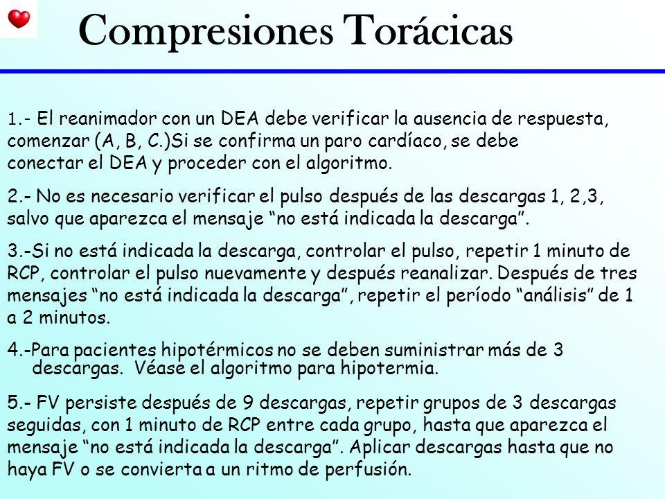 Compresiones Torácicas