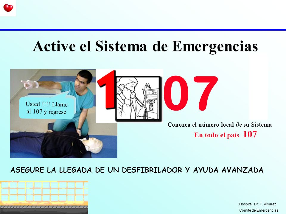 Active el Sistema de Emergencias