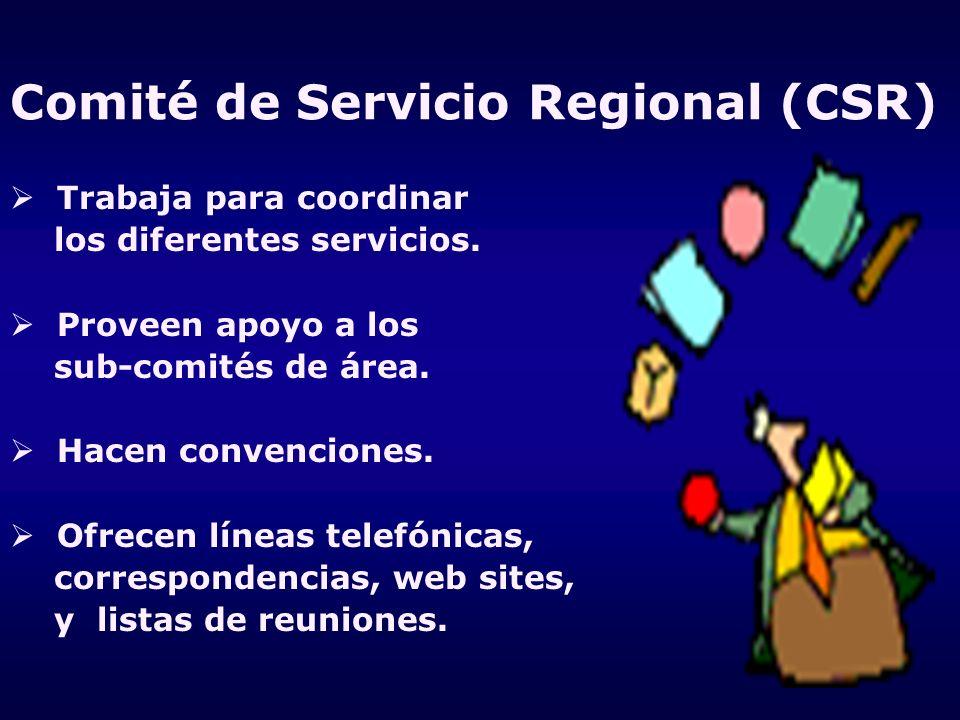Comité de Servicio Regional (CSR)