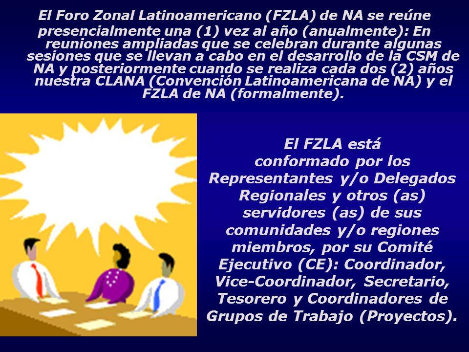 El Foro Zonal Latinoamericano (FZLA) de NA se reúne