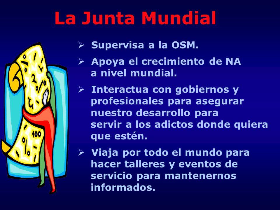 La Junta Mundial Supervisa a la OSM. Apoya el crecimiento de NA
