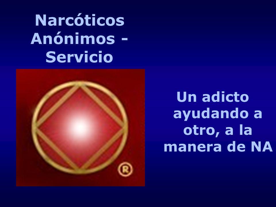 Narcóticos Anónimos - Servicio