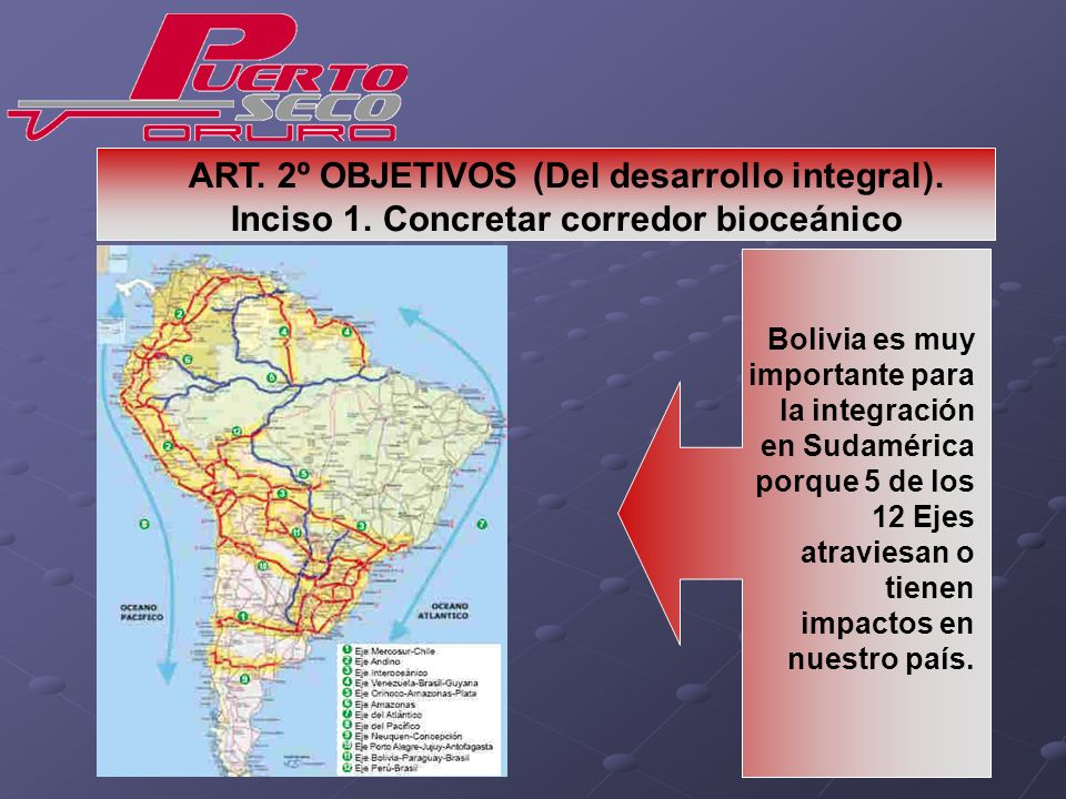 ART. 2º OBJETIVOS (Del desarrollo integral). Inciso 1