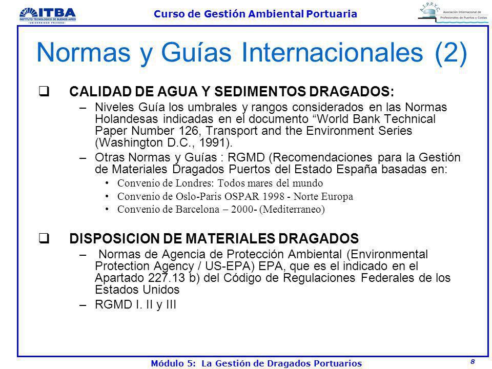Normas y Guías Internacionales (2)