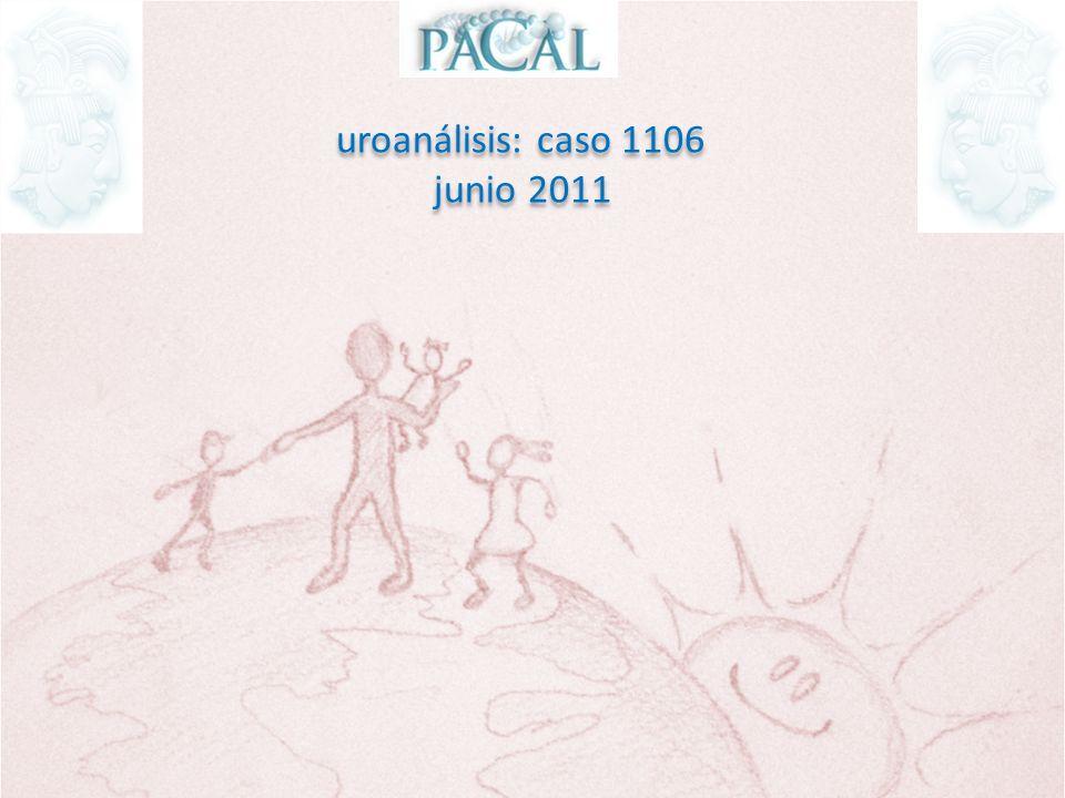 uroanálisis: caso 1106 junio 2011