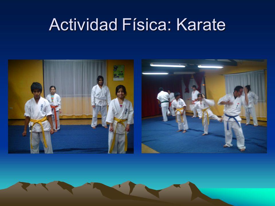 Actividad Física: Karate