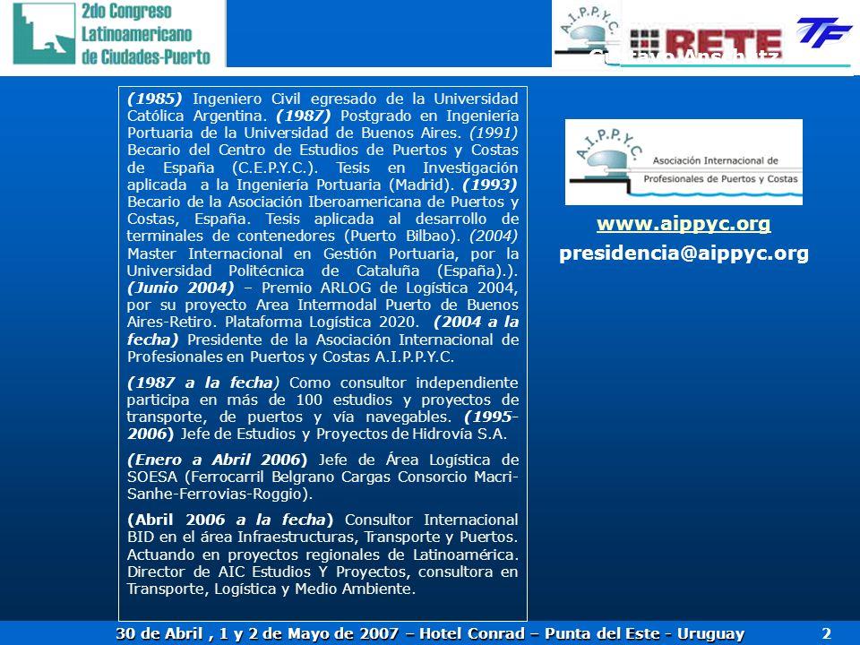Gustavo Anschütz www.aippyc.org presidencia@aippyc.org