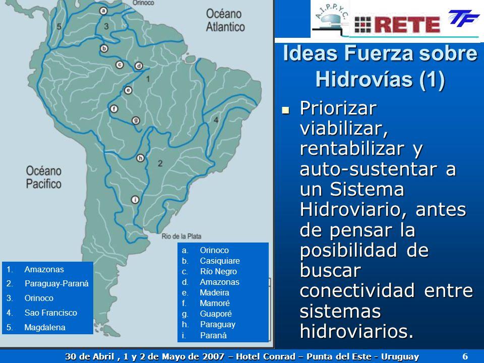 Ideas Fuerza sobre Hidrovías (1)