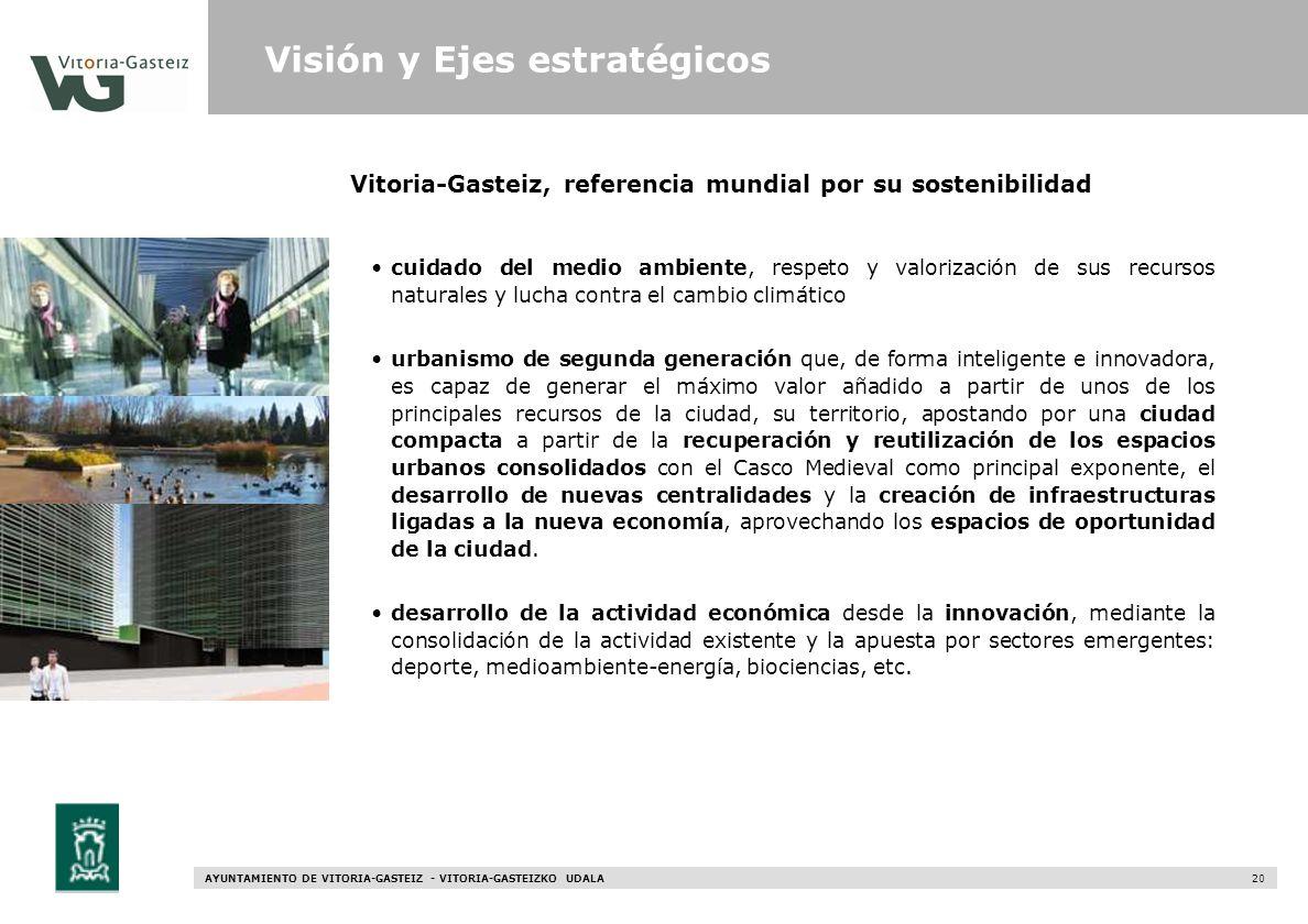 Vitoria-Gasteiz, referencia mundial por su sostenibilidad