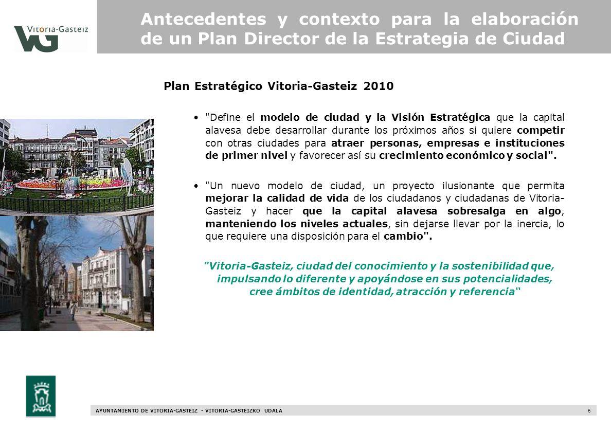 Plan Estratégico Vitoria-Gasteiz 2010