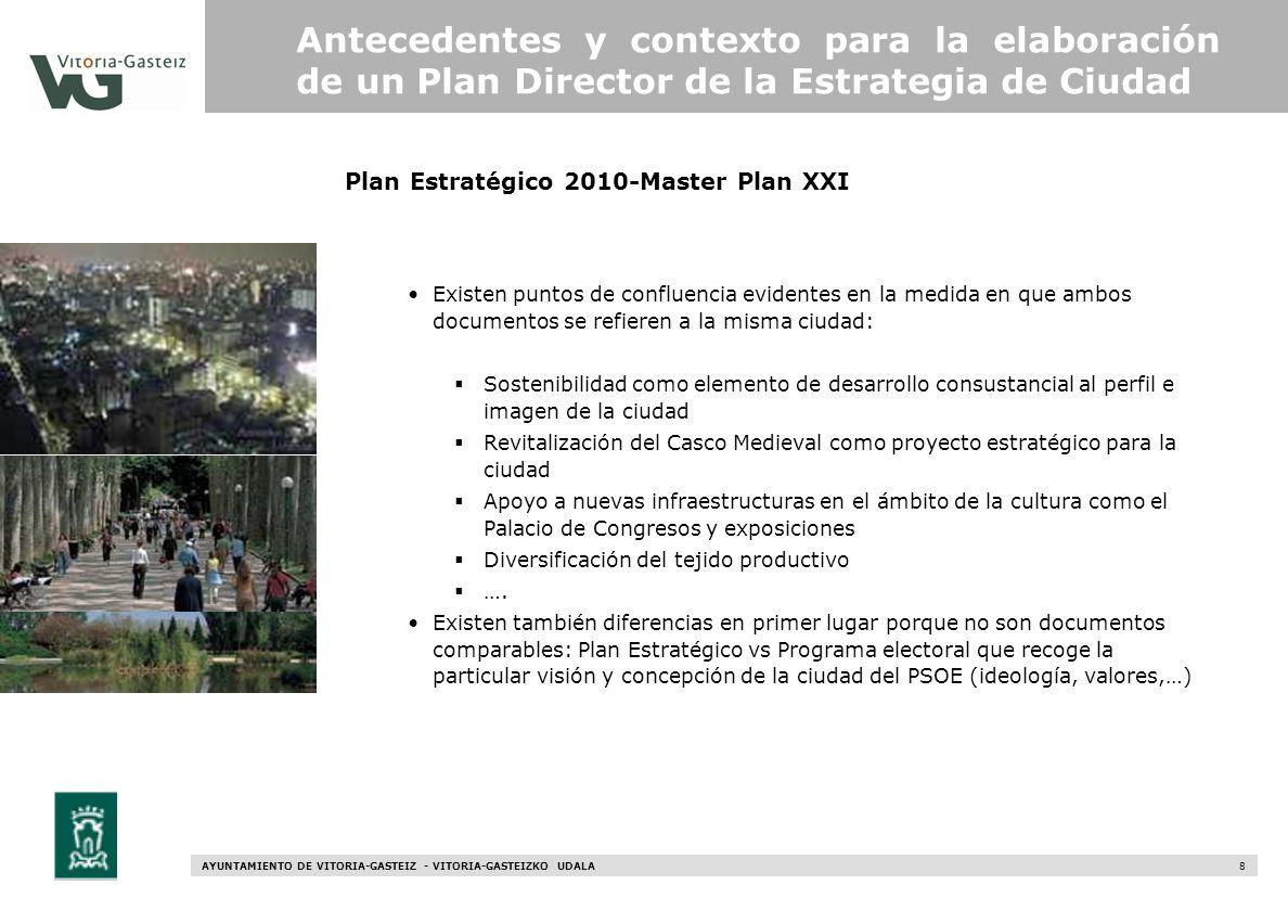 Plan Estratégico 2010-Master Plan XXI