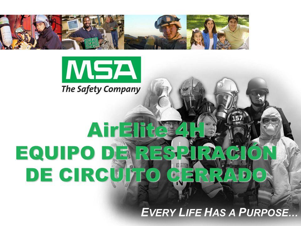 AirElite 4H EQUIPO DE RESPIRACIÓN DE CIRCUITO CERRADO