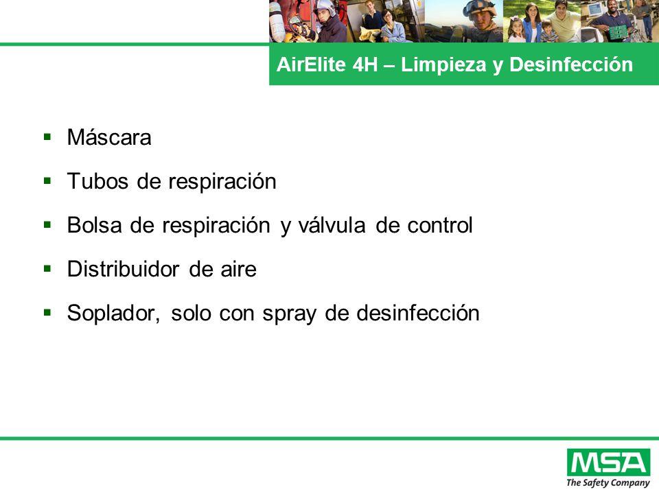 AirElite 4H – Limpieza y Desinfección