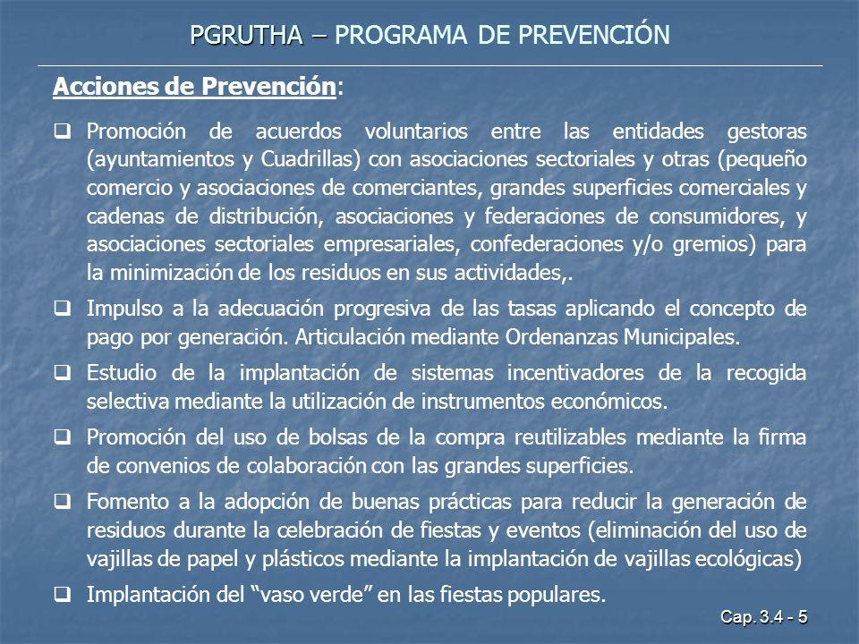 PGRUTHA – PROGRAMA DE PREVENCIÓN