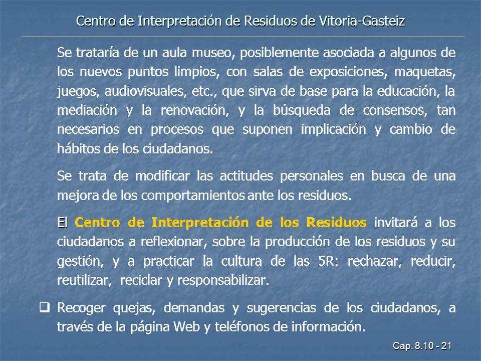 Centro de Interpretación de Residuos de Vitoria-Gasteiz