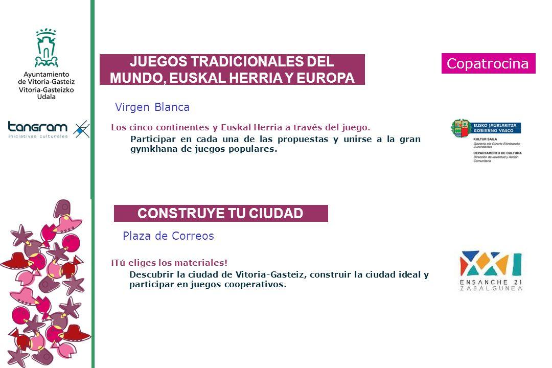 JUEGOS TRADICIONALES DEL MUNDO, EUSKAL HERRIA Y EUROPA