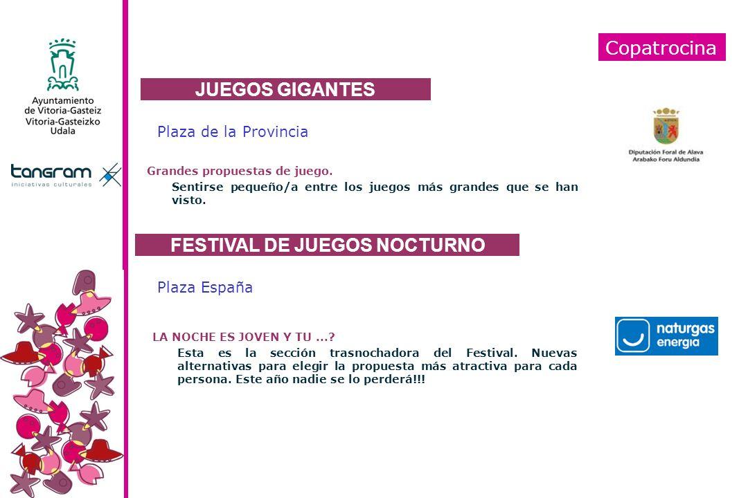 FESTIVAL DE JUEGOS NOCTURNO