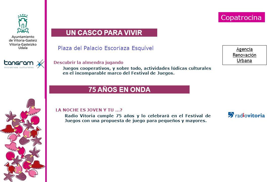 UN CASCO PARA VIVIR 75 AÑOS EN ONDA