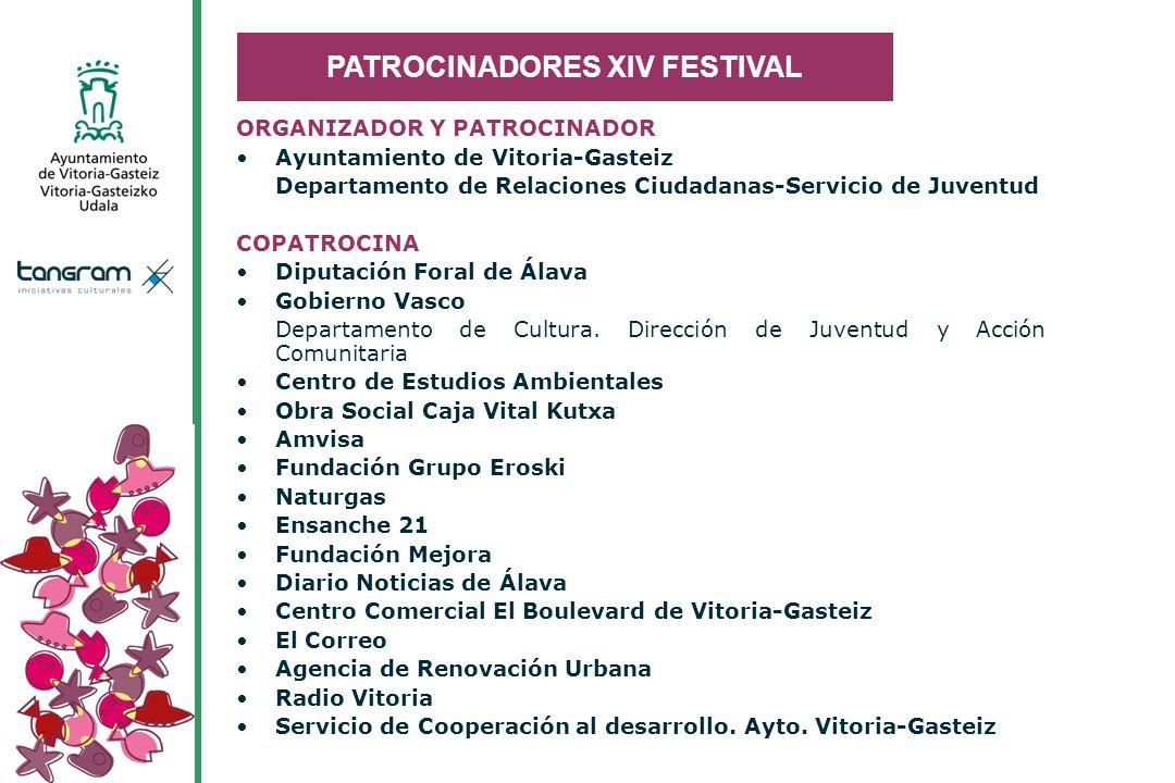 PATROCINADORES XIV FESTIVAL