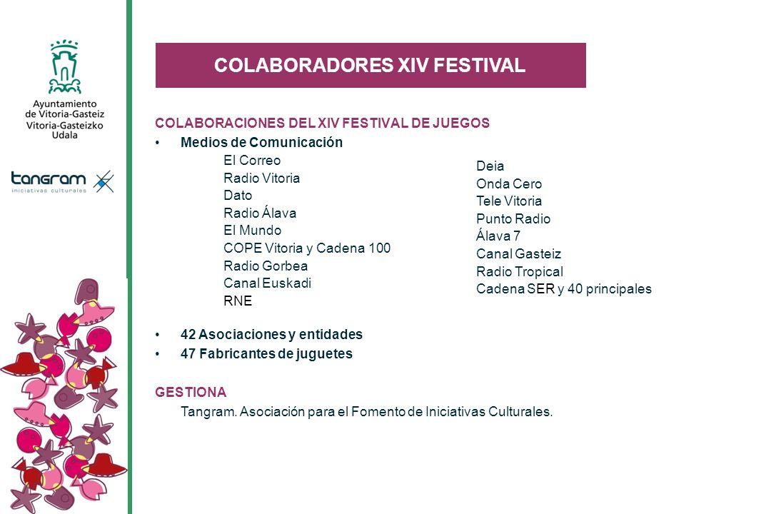 COLABORADORES XIV FESTIVAL