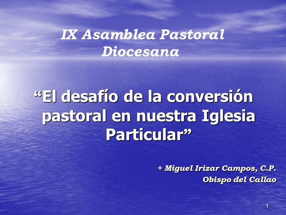 El desafío de la conversión pastoral en nuestra Iglesia Particular