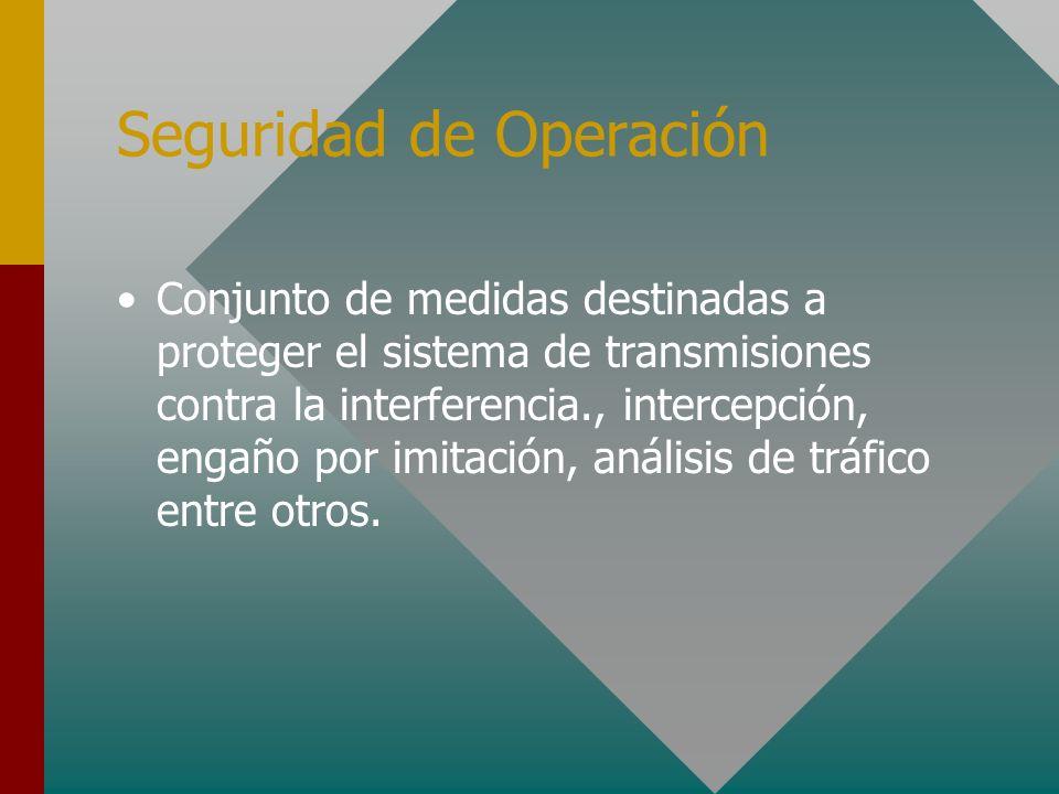 Seguridad de Operación