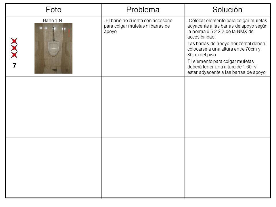 Foto Problema Solución 7 Baño 1 N