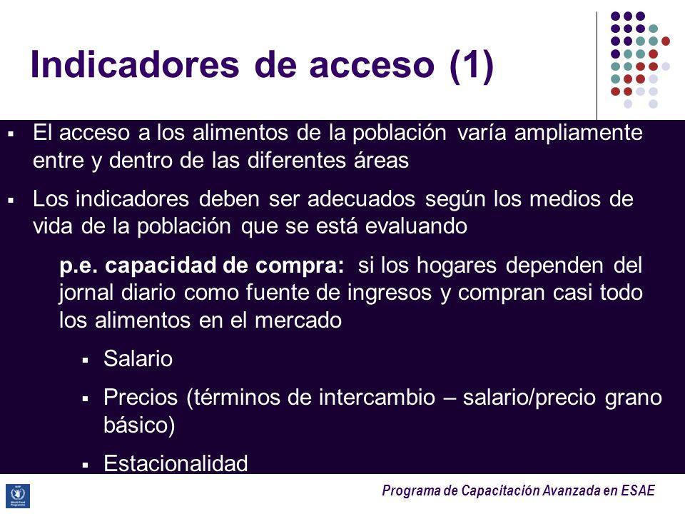 Indicadores de acceso (1)