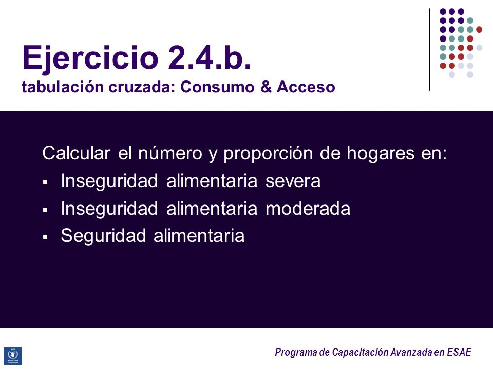 Ejercicio 2.4.b. tabulación cruzada: Consumo & Acceso