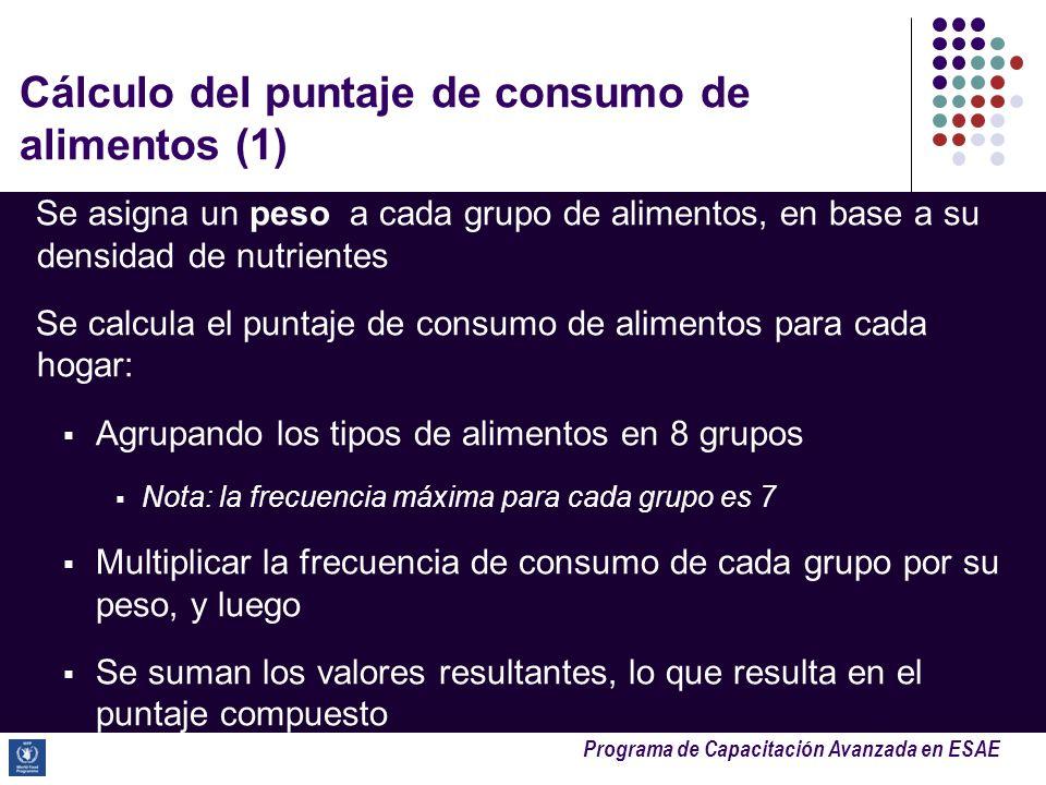 Cálculo del puntaje de consumo de alimentos (1)