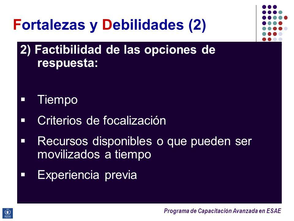 Fortalezas y Debilidades (2)