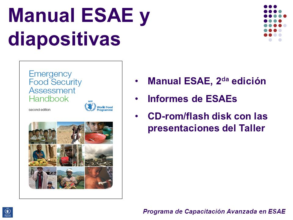 Manual ESAE y diapositivas