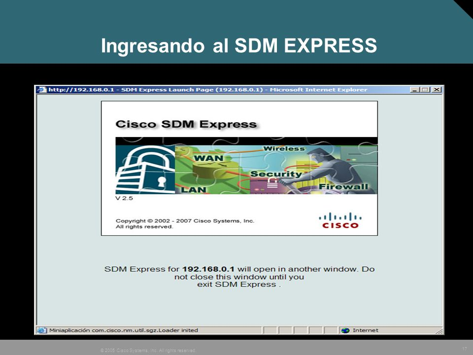 Ingresando al SDM EXPRESS