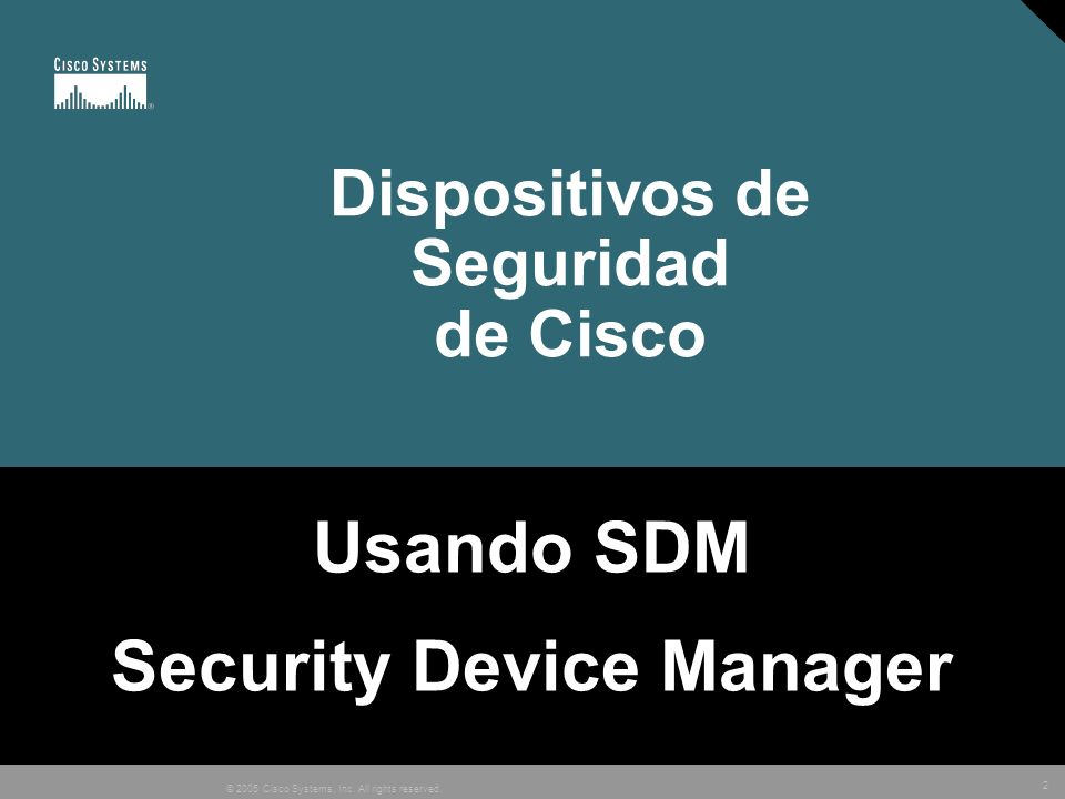 Dispositivos de Seguridad de Cisco