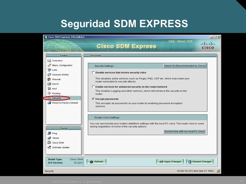 Seguridad SDM EXPRESS