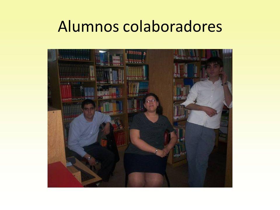 Alumnos colaboradores