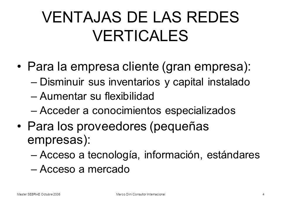 VENTAJAS DE LAS REDES VERTICALES