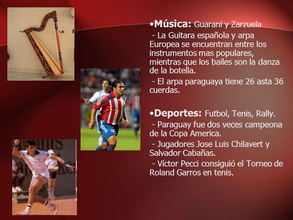 Música: Guarani y Zarzuela