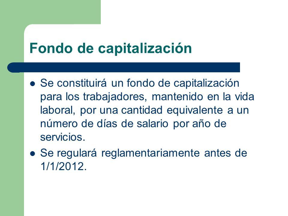 Fondo de capitalización