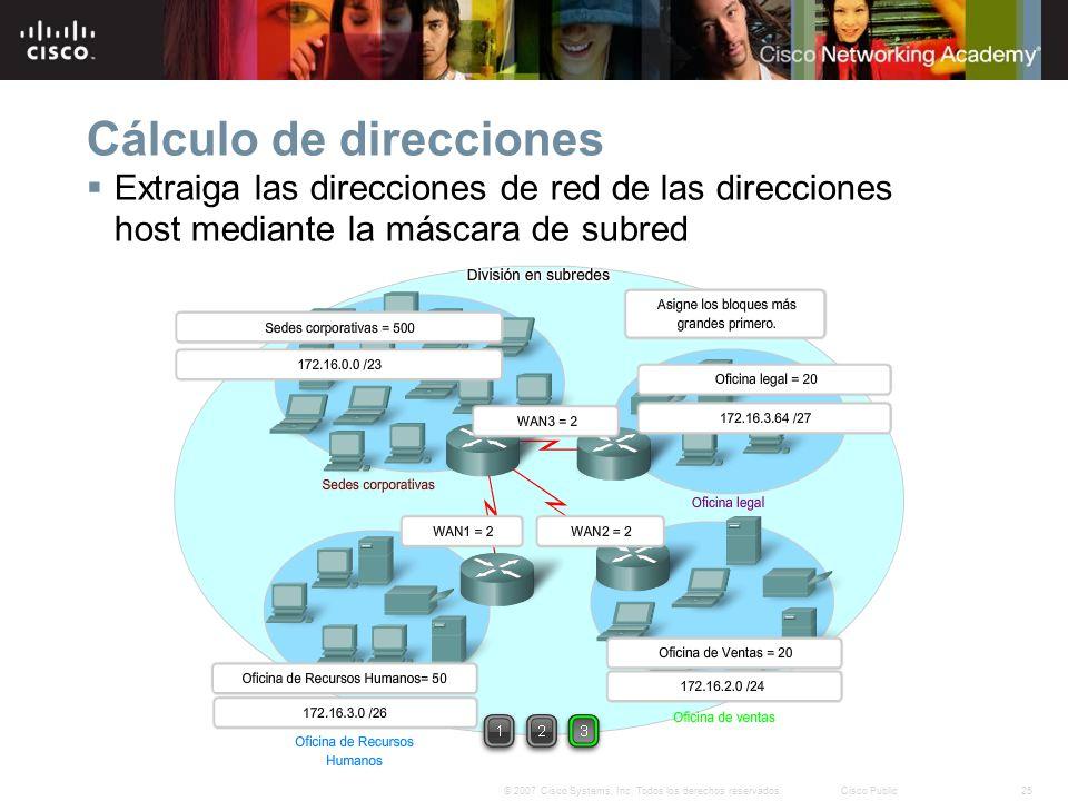 Direccionamiento de la red ipv4 ppt descargar for Calculadora de redes