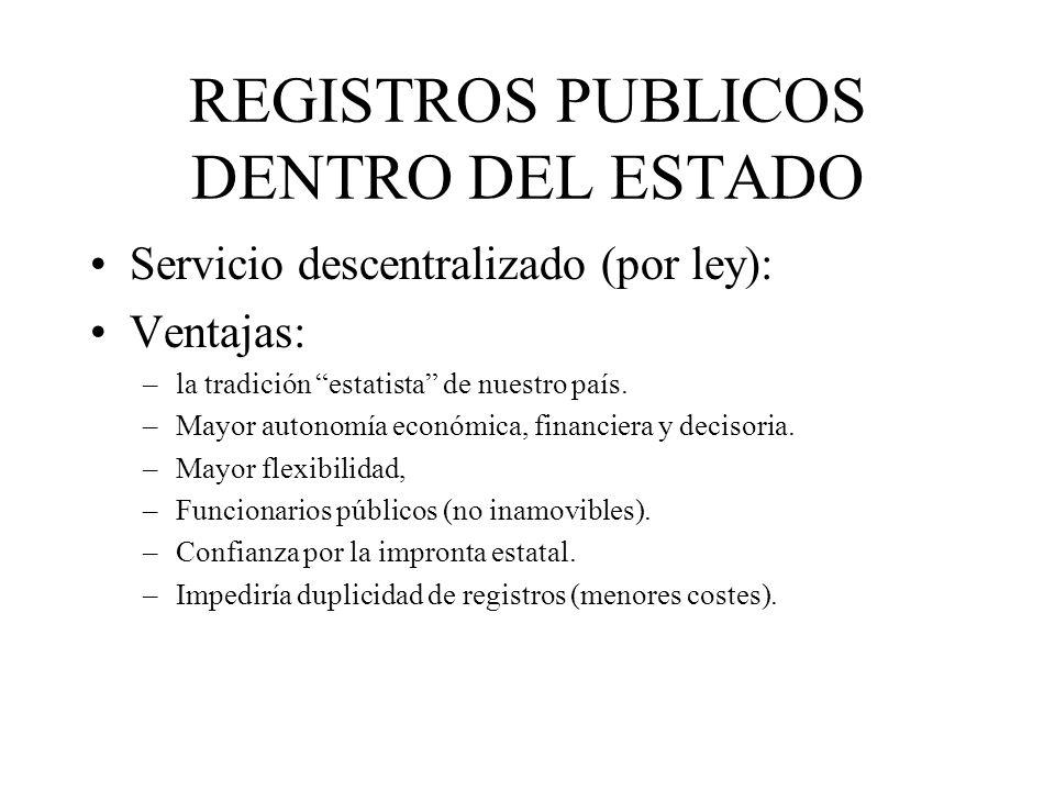 REGISTROS PUBLICOS DENTRO DEL ESTADO