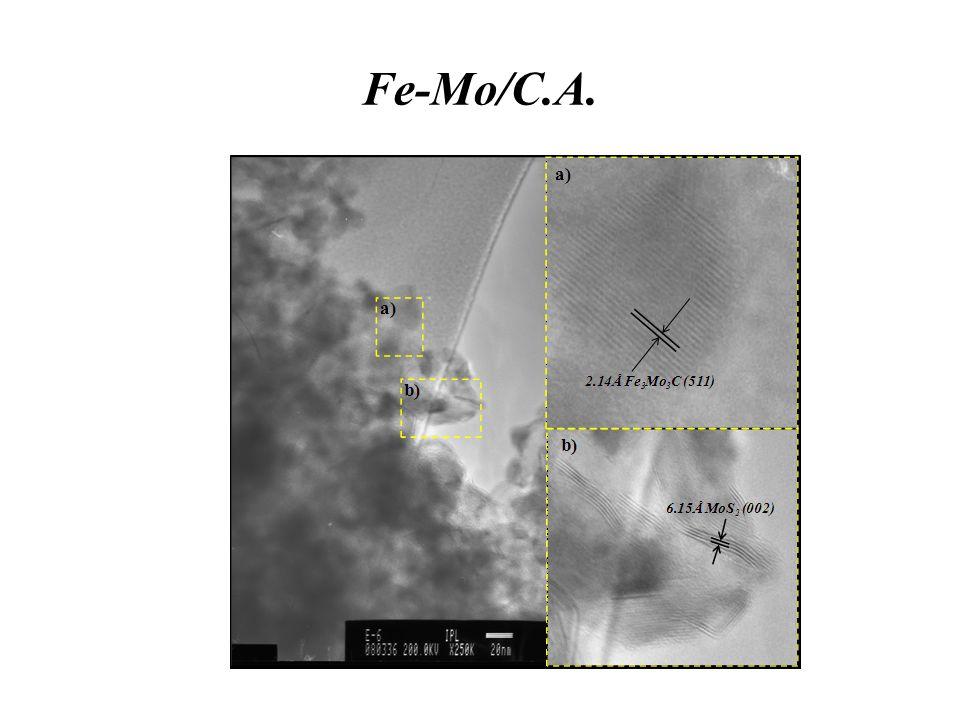 Fe-Mo/C.A.