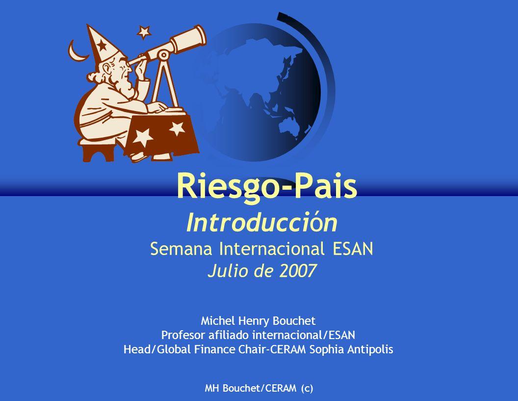 Riesgo-Pais Introducción Semana Internacional ESAN Julio de 2007