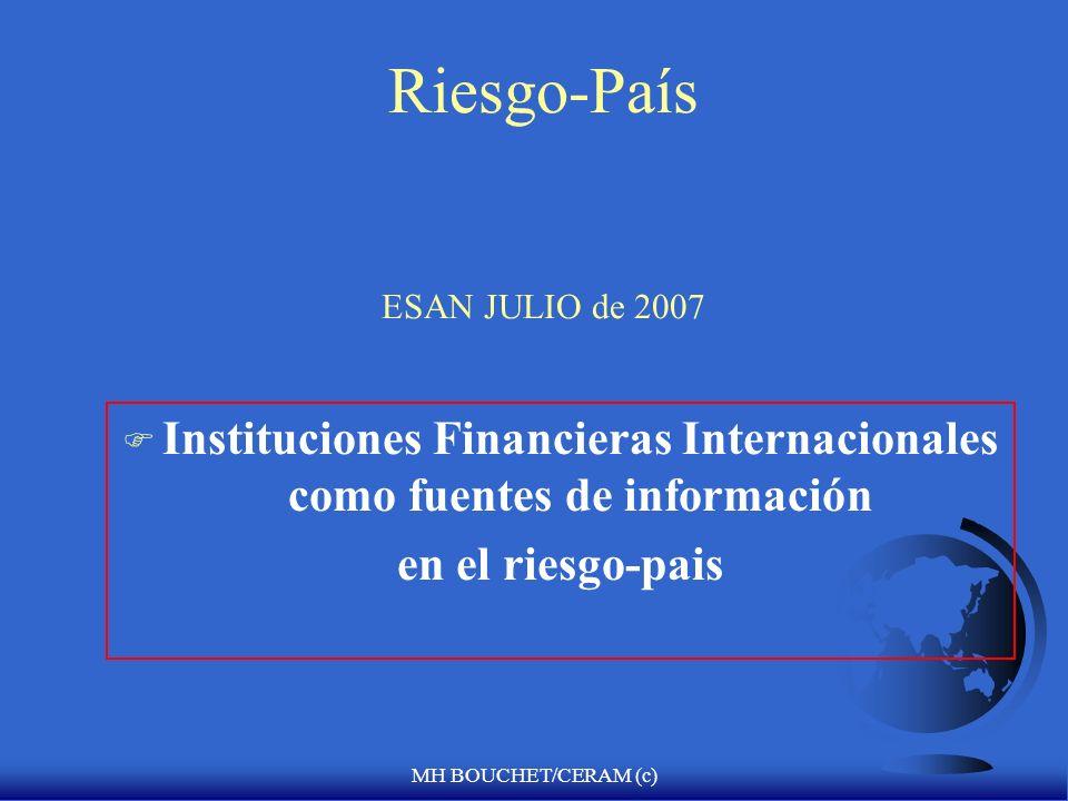 Riesgo-País ESAN JULIO de 2007